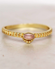 ring - rose quartz horizontal