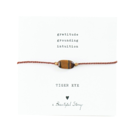 a Beautiful Story - Tiger eye