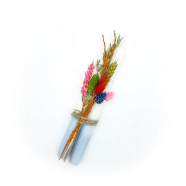 Set DIP DYE met droogbloemen ( lila )