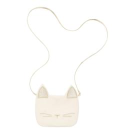 witte katten tas