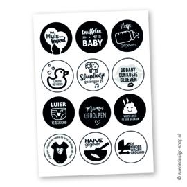 Sticker kaart | Grote Broer