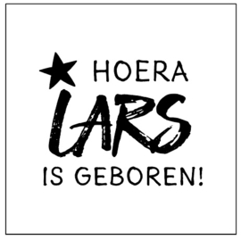 Geboortesticker 'Lars'