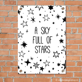 "Tuinposter ""A Sky full of stars"""