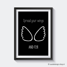 A4 Poster 'Spread your wings'