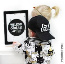 A4 Poster 'Welkom Sint & Piet'