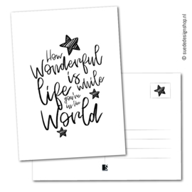 Kaart | How wonderful life is...