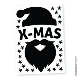 Raamsticker 'Santa'