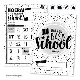 Basisschool aftelposter | Hoera! Ik mag bijna naar school!