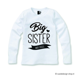 Shirt 'Big Sister/Brother'