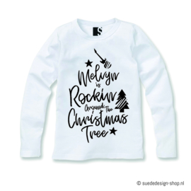 Longsleeve 'Rockin' around' + Naam