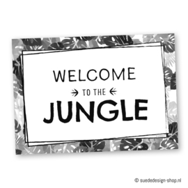 A4 Poster 'Welcome to the Jungle'