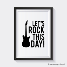 A4 Poster 'Rock this day'