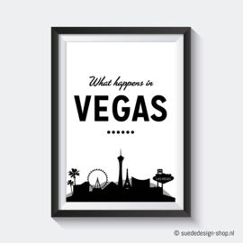 A4 Poster 'What happens in Vegas...'