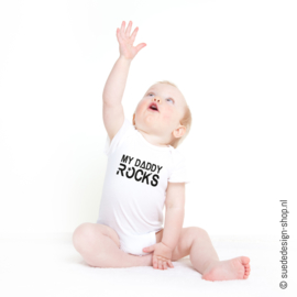 Romper 'My Daddy Rocks'