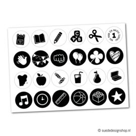Stickers   Basisschool   24 stuks