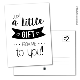Just a little gift to you!