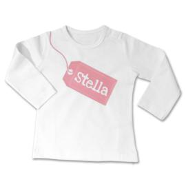 Babyshirt op maat