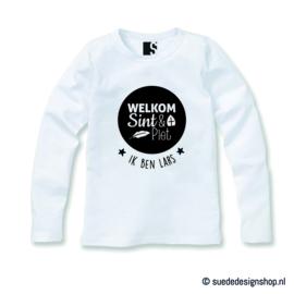 Longsleeve 'Welkom Sint & Piet'