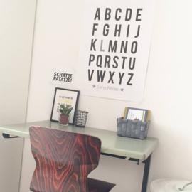 Poster 'ABC' met naam