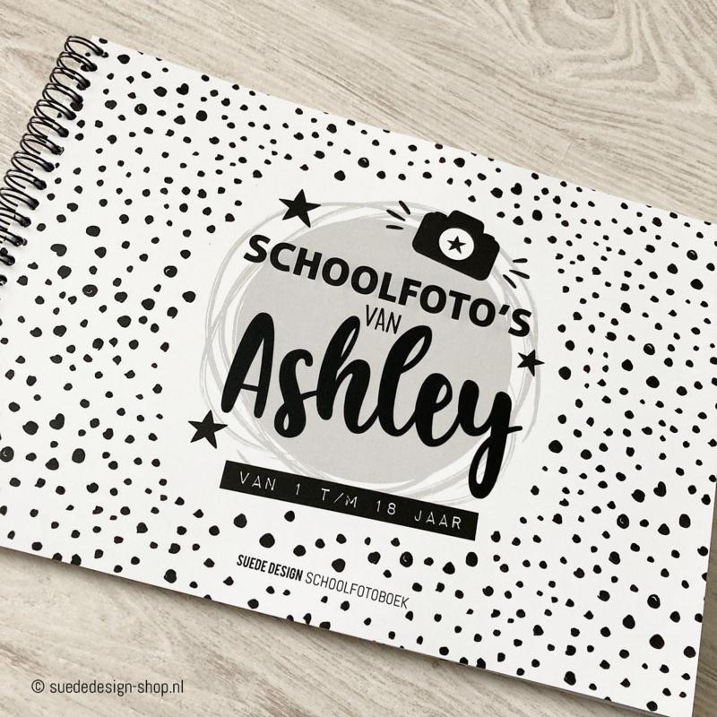 """Schoolfotoboek """"Met naam"""""""