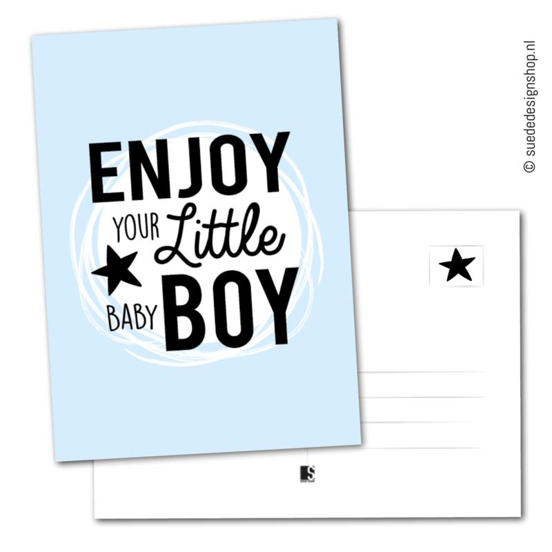 'Enjoy your little baby boy'