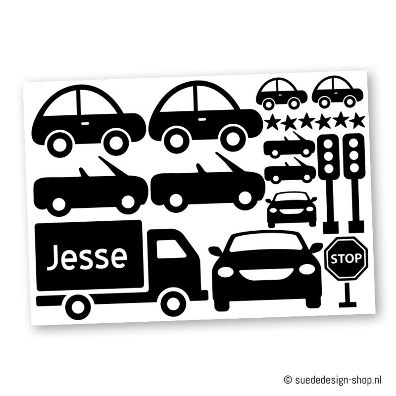 (muur)stickers 'Auto'