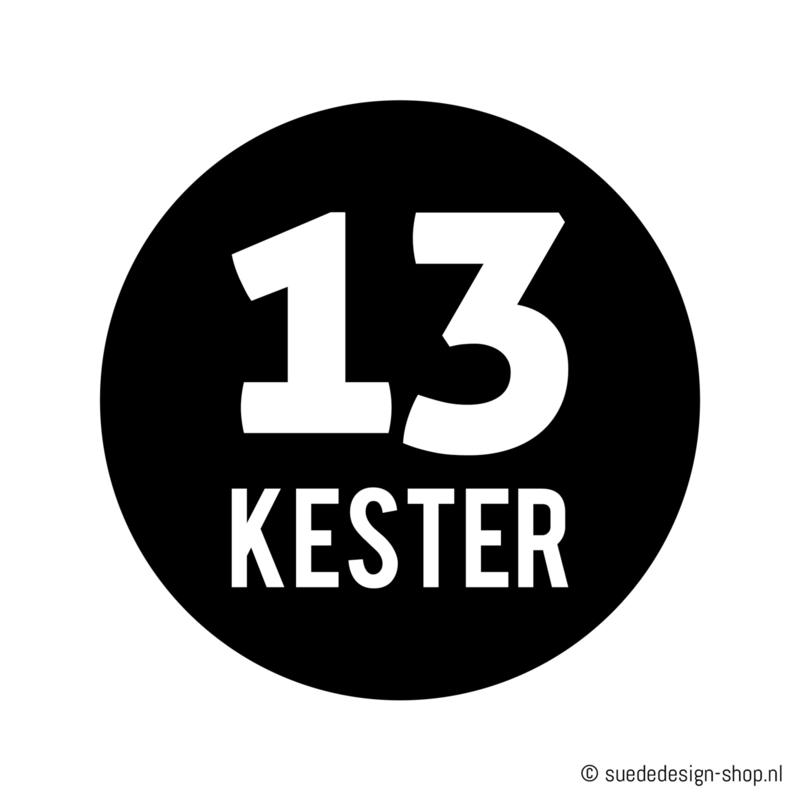 "Kliko sticker ""Huisnummer + Naam"""