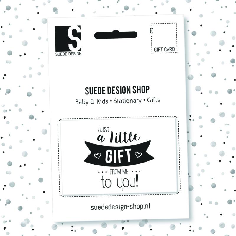 Suede design SHOP - Gift Card