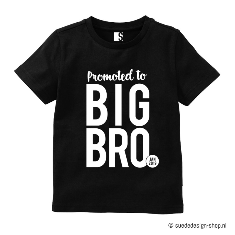 Shirt 'Big Bro/ Big Sis'