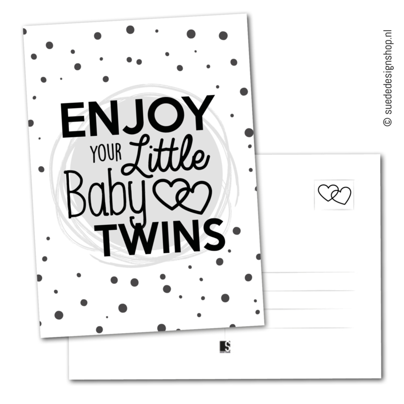 Enjoy your little baby twins