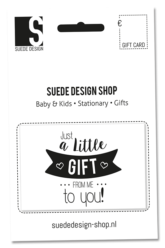 Suede design Gift Card