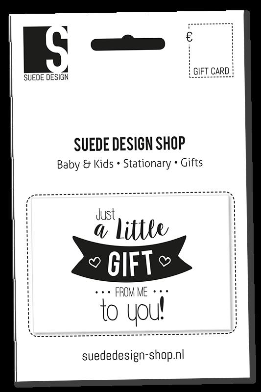 Suede design Gift Card