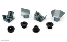 absoluteBlack - Crank bolt covers for Ultegra 6800 - Dura-ace 9000