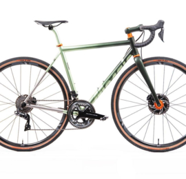 Mosaic Cycles - GS-1 (Gravel Steel Custom frame)