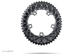 absoluteBLACK - Premium Oval ROAD 110/5 BCD Chainring for SRAM
