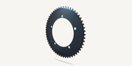 Bespoke chainrings - Stealth Rose