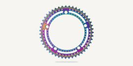 Bespoke chainrings - Drillium Track