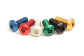 Carbon Ti - Button head Torx Al7075 M5 x 15