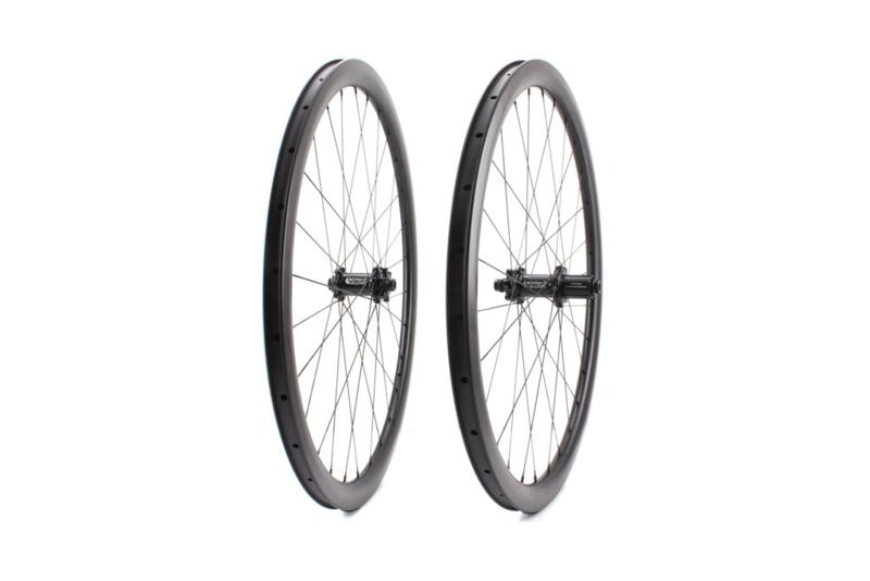Carbon Ti - Remschijf wiel-set