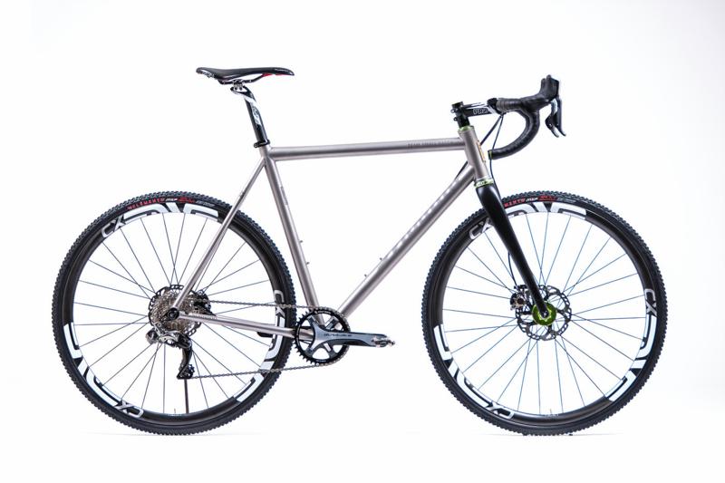 Mosaic Cycles - XT-1 (CycleCross Titanium Custom frame)