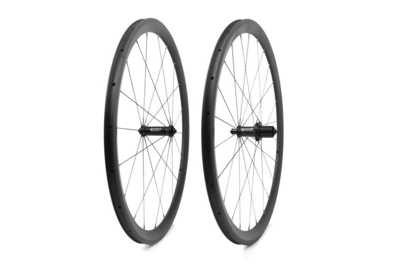 Carbon Ti - Velgrem wiel-set