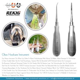 OKOS Hoofcare instrument 2 mm