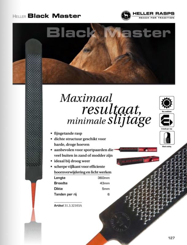 """Hufraspel HELLER Black Master 14/"""""""
