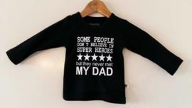 MY DAD IS A SUPER HERO (korte mouw)