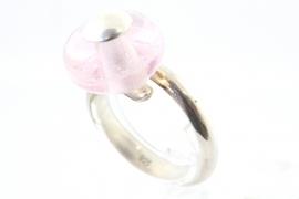 Ring 15 licht roze