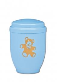 Blauwe urn