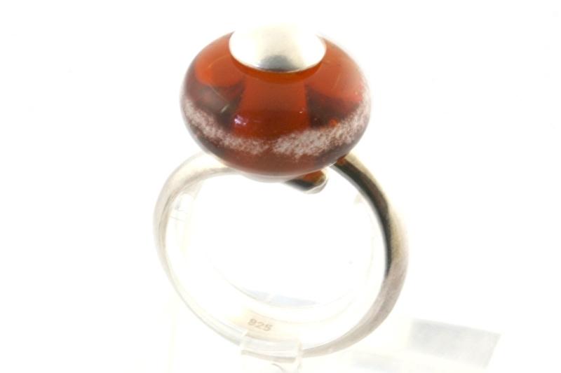 Ring 10 licht bruin