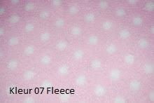 kleur 07 Fl. roze stip