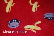 Kleur 08 fleece aap