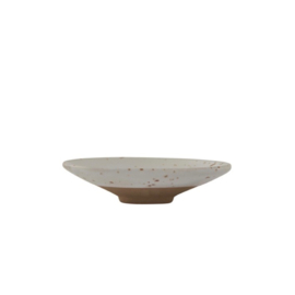 OYOY - HAGI MINI BOWL - WHITE / LIGHT BROWN